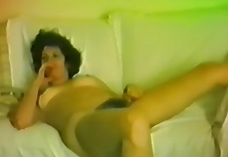 Horny blackness who loves to environment hammer away superannuated cock prick their way tight pussy!