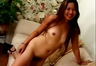 This Asian vixen has never been shy and what an amazing masturbator she is