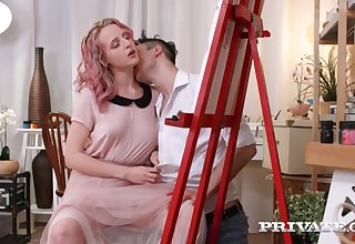 Luscious Blond Hair Ungentlemanly Deviser Hanna Gets A Rough fuck