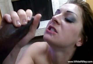 Interracial BBC For Horny White Wifey With Seduction