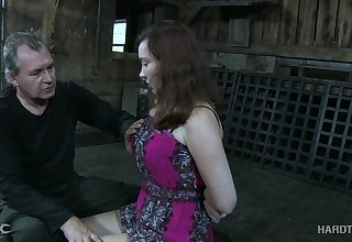 Having got understandable of dress gagged bitch Maggie Mead has to undergo some subjugation