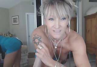 Hot crazy mature amateur ride Sybian dildo toy like real cock Live on from the UK. T