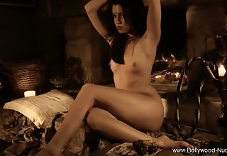 Bollywood Ritual Erotic Dance Session Of Solo Brunette