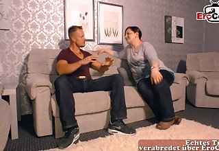 German mature mom in all directions at casting