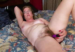 Compilation be advisable for solo mature ladies from united states captured masturbating with dildos
