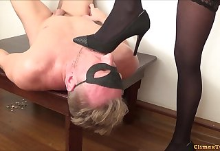 Wondrous femdom porn chapter with mistress in stockings