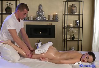 Loved girlfriend Lilu Moon enjoys getting massaged and fucked