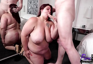BBW housewife gets ambrosial approximately Vegas
