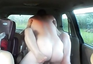 fuck a seconded woman in car