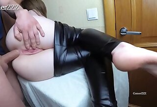 Inexperienced honey is screaming greatest extent getting boned in along to butt and placid hoping to get creampied