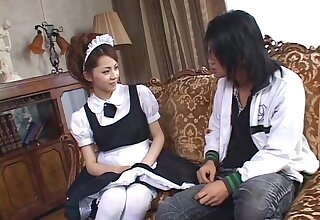 Incisive Japanese viva voce passion with chum around with annoy hot maid