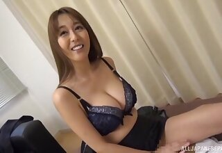 Amazing fucking in the office fumbling with a creampie for a secretary