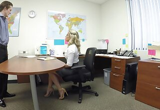 Beauteous office MILF with reference to crazy XXX hard shag