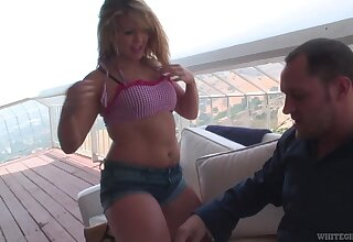 Stunning chick Alice Distress-signal rides a cock like there is no tomorrow