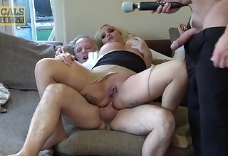Bungler anal triumvirate - British Blondie Louis Lee Ass Hammered In Homemade Euro triumvirate