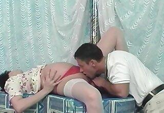 Ninth month preggo ass fucked by her boyfriend