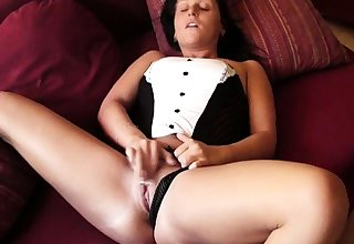 Swinger solo british amateur masturbation