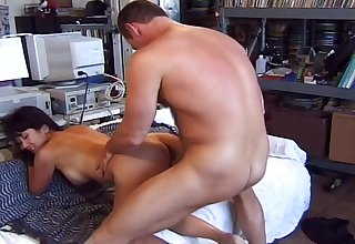Beautiful Asian Takes The Bosses Cock For Facial.