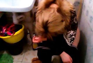 Hot redhead fucked on hidden cam