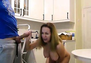 Beamy tit german go girl sucks dick in german orgy