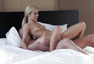 European babe banged in the bedroom
