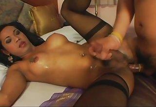 asian shelady Has nakedback fun