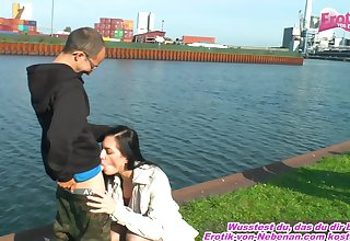 bring out sex caught blowjob with german amateur teen