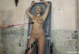 Sexy Daisy Lee enjoys BDSM beguilement with a guy and his sex toys