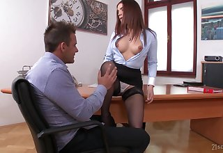 Secretary owes a boss rise in the world head and lose concentration nympho loves to suck a dick