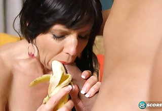 Trained all over be an anal slut - 50PlusMilfs